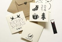 holiday lettering + design / by Laura Freedom