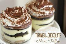 Trifle and Tiramisu Heaven / Yummy Trifle and Tiramisu recipes