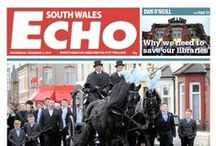 South Wales Echo 2014 / Our front pages through the year