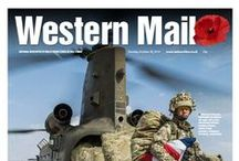 Western Mail 2014 / Our front pages