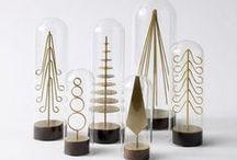 Christmas trees / Árvores de Natal / Árvores de Natal criativas, modernas e sofisticadas.   {The coolest, most sophisticated and modern Christmas trees.}