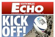 South Wales Echo 2015 / Our front pages throughout the year