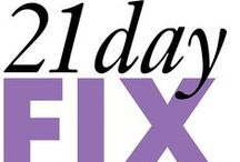 21 Day Fix / 21 Day Fix Recipes! Organizing! Getting started! Staying on track!
