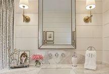 Bathroom Inspiration / Bathroom design inspiration.