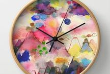 Wall clocks by Ninola