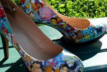 Painted Shoes / Sharpie Painted and Decorated DIY Shoes
