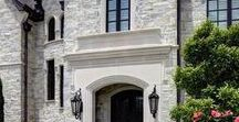 Estate Exteriors / Estate Exterior design inspiration to use on current and future projects.