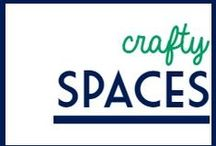 Crafty Spaces / Craft room ideas / by It's a Fabulous Life