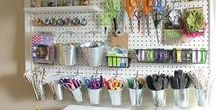 Crafty Spaces / Craft room ideas