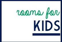 Rooms For Kids / Designs for kid's rooms including bedrooms, play rooms, and kid spaces.   / by It's a Fabulous Life