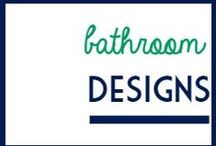 Bathroom Design / Design ideas for bathrooms.   / by It's a Fabulous Life