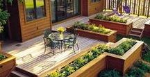 Outside Spaces / Fun, inspirational, and beautiful outside spaces.  DIY projects, tutorials and ideas.