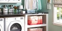 The Laundry Room / Laundry Room design and ideas.