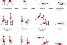 Workouts / by Jacky Hackett