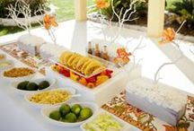 Parties / decor and set-up ideas for elegant soirees and kid-friendly fiestas