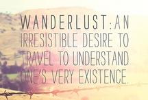 Wanderlust . / by Sophie Carll