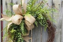Welcomes & Wreaths / Wreaths & Welcome Signs / by Holly Bridgeo