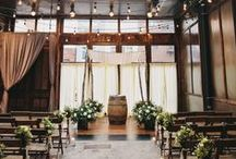 Wedding Venue at Brooklyn Winery / Celebrate your marriage at a beautiful winery in Brooklyn. With a fully functioning winery as the backdrop for your nuptials, Brooklyn Winery is uniquely chic—you'll host your guests in our romantic, sophisticated space filled with reclaimed wood and hand-selected vintage adornments while sipping wine made on premises.
