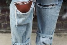 baby's got her blue jeans on / by ☯ C a r o l i n a ☯