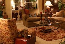 where we all meet- the living room / lively and comfortable living areas / by Dana Hendley