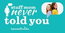 Stuff Mom Never Told You / Why do women tend to outlive men? How do male and female brains differ? Cristen and Caroline debate and dissect fascinating topics like these at www.stuffmomnevertoldyou.com  And check out the new SMNTY Pinterest page: www.pinterest.com/StuffMomNever