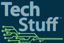 TechStuff / Will technology revolutionize education? How does jailbreaking work? Join Jonathan and Lauren as they explore a host of technological topics and trends in TechStuff, a podcast from HowStuffWorks.com. Like them on Facebook: www.facebook.com/TechStuffHSW / by HowStuffWorks