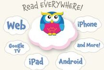 MeeGenius Bookstores / Whether at home on a computer, curled up in a bed with a tablet or on the road with your iPhone, a great kid's book is always at hand! / by MeeGenius! eBooks for Kids