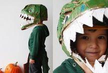 i love 'dinos' - serie / Walk the dinosaur! Stoere kids en coole dino's zijn een geweldig team. Dino's in alle kleuren en maten, met of zonder vleugels, steksels, pantser, klauwen, ... spreken tot de verbeelding van menig kleine avonturier.  Maar ook tot de inspiratie van menig designer. Tijd voor een nieuwe IJstijd? / by de kleine zebra webboetiek