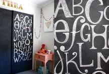 decor trend: play by numbers & letters / by de kleine zebra webboetiek