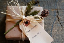 wrap it up / gift wrapping ideas, cards, tags and homemade gifts / by Linda Siebach