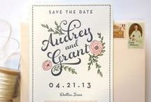 Wedding Stationery Items / by Kelcy Parrish