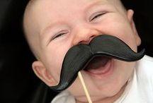 I love 'moustaches' – serie / Er valt niet aan te ontkomen, de moustache trend is hot and happening! Het hoeft niet altijd even serieus te zijn, dus ga voor een vrolijk snorretje op leuke spulletjes voor de baby en hippe accessoires voor mama. Let's have a moustache day! / by de kleine zebra webboetiek