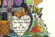 Journal Art Inspiration / by Tsandi Crew