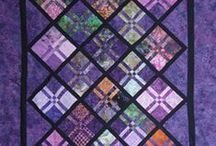 Quilting - Stained glass look / by Judy Calvert