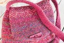 Knit 'n Crochet - Bags / by Judy Calvert