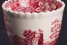 Staffordshire Love / English antique pottery love affair / by Dana Hendley