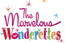 "The Marvelous Wonderettes / Inspiration for the stage shows, ""The Marvelous Wonderettes"", ""The Marvelous Wonderettes:  Caps and Gowns"", and ""The Winter Wonderettes"".  I play Suzy Simpson-Stevens. / by Josie Thames"