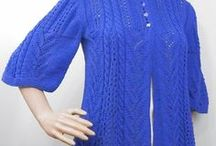 USKnits -  Women's clothes / Knitted skirts, tops, pullovers and jackets