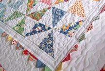 Quilting - Pinwheels, Flying Geese, Goosetracks, 'n Bearpaws / by Judy Calvert