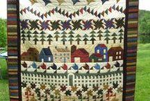 Quilts - Row quilt / by Judy Calvert