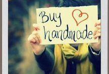 buy handmade / support art and buy handmade / by Rebecca Dunham