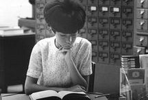 Vintage Libraries / We used to do what? Photos and memorabilia from days gone by...