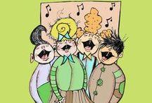 Music & Sing-A-Long Children's Books / by MeeGenius! eBooks for Kids