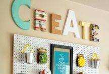 craft room / by Rebecca Dunham