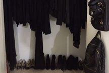 Cosmetologist closet / ALL BLACK ERRYTHANG