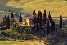 Get the Look: Tuscan / Tuscany is all about sun-drenched fields dotted with lavender and that famous red soil that makes Italian Terracotta so gorgeous. Eating a long meal under a huge tree! Bellissimo!