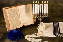 Hanukkah Stuff / Hanukkah Sameach! Spin the dreidel and light the menorah!