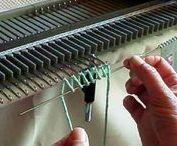 Machine knitting how to