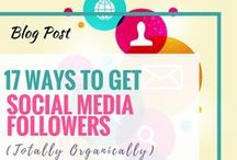 Social Media Marketing Tips / Social Media Marketing Tips for Small Businesses including Facebook, Instagram, Twitter, Pinterest, LinkedIn and SnapChat