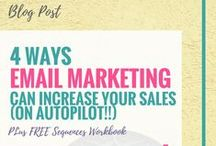Email Marketing Tips for Small Business / email marketing, email subscriber, subscriber, lead magnet, opt in, signature freebie, email signup, newsletter, email newsletter, sales funnel, sales path, mailchimp, convertkit